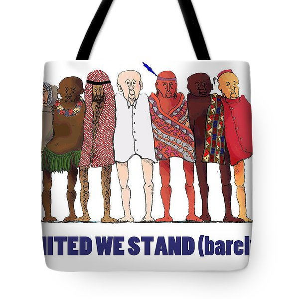 Can't We Just Get Along? Tote Bag
