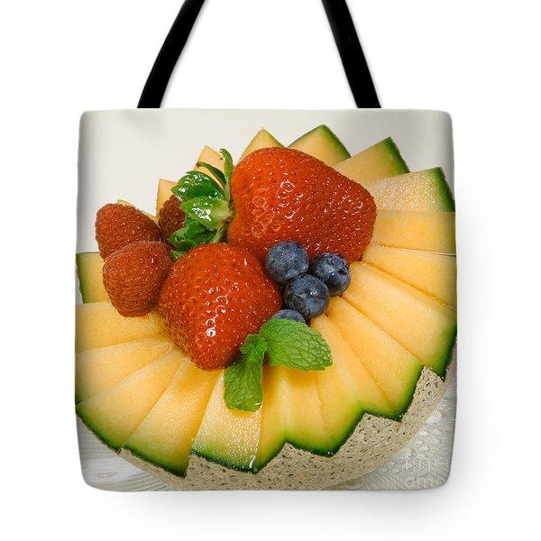 Cantaloupe Breakfast Tote Bag