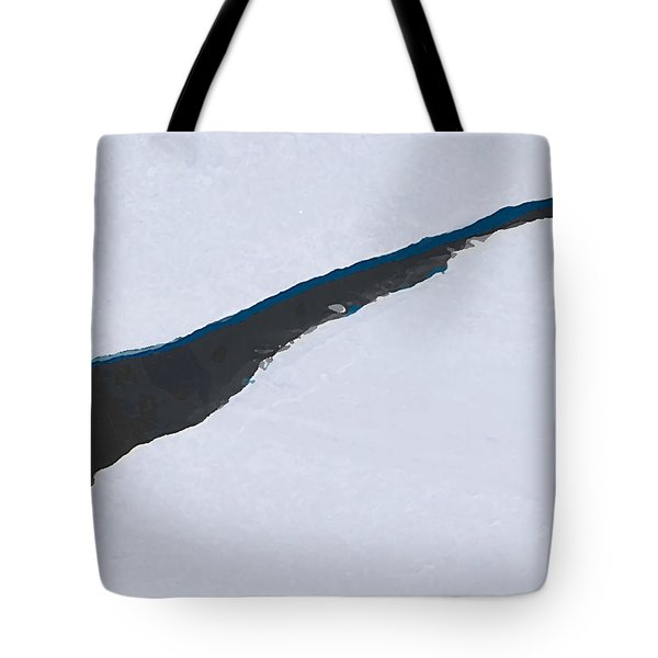 Tote Bag featuring the digital art Cantaloupe Island by Ken Walker
