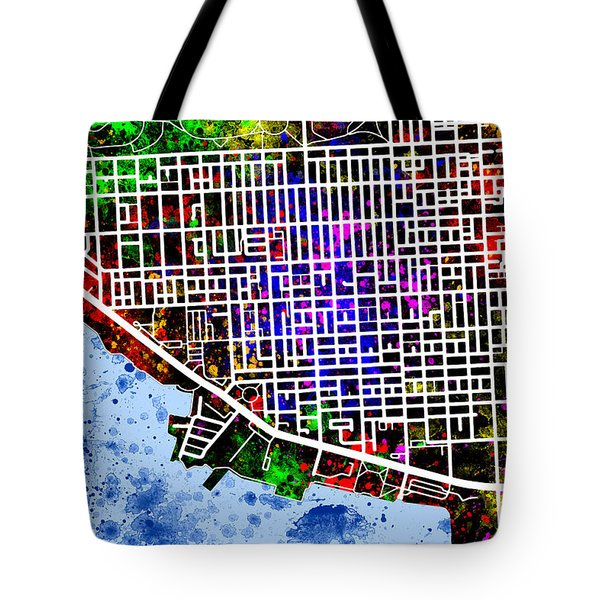 Canton Map Tote Bag