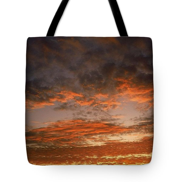 Canvas Sky Tote Bag