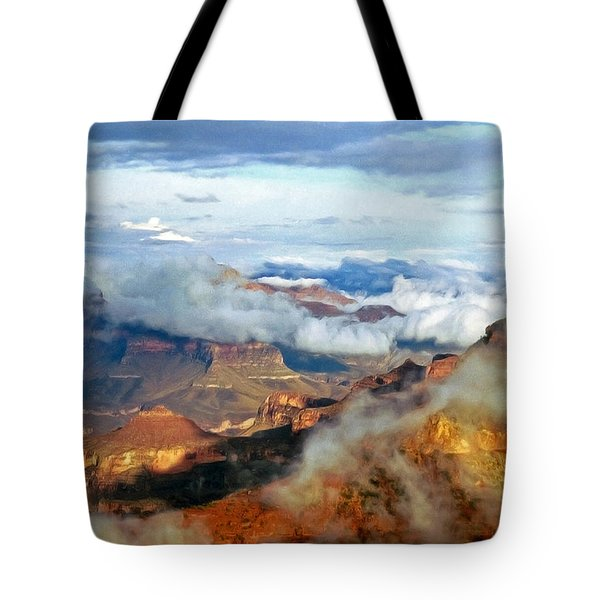 Canyon Clouds Tote Bag
