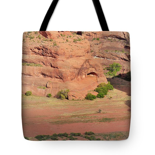 Canyon De Chelly From White House Ruins Trail Tote Bag by Christine Till