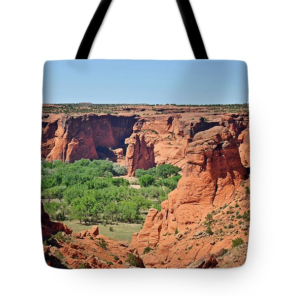 Canyon De Chelly - Tunnel Overlook Tote Bag by Christine Till