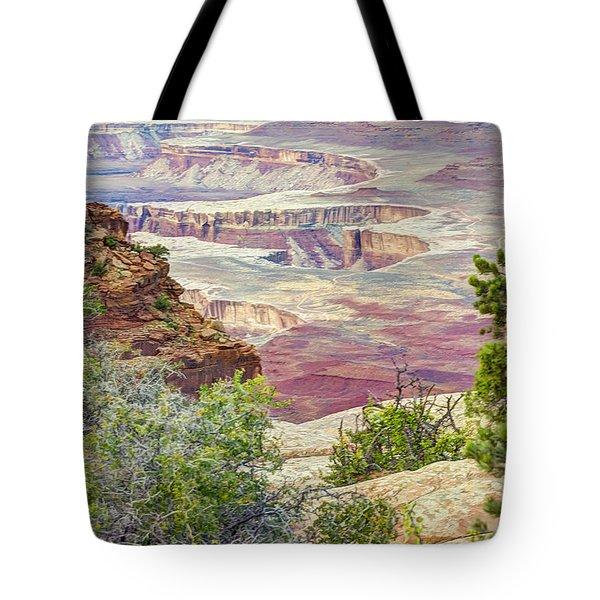 Canyon Lands Tote Bag by Wanda Krack