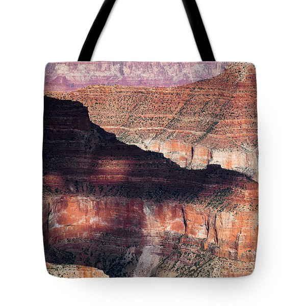Canyon Layers Tote Bag by Dave Bowman