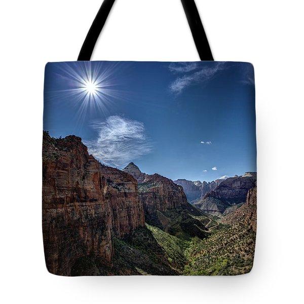 Canyon Overlook Tote Bag
