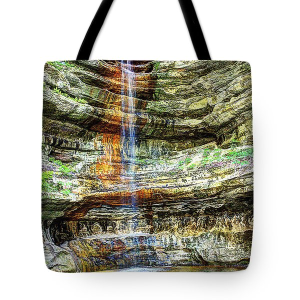 Canyon Starved Rock State Park Tote Bag