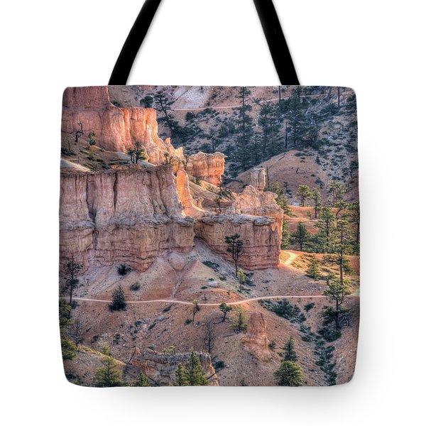 Canyon Trails Tote Bag by Wanda Krack
