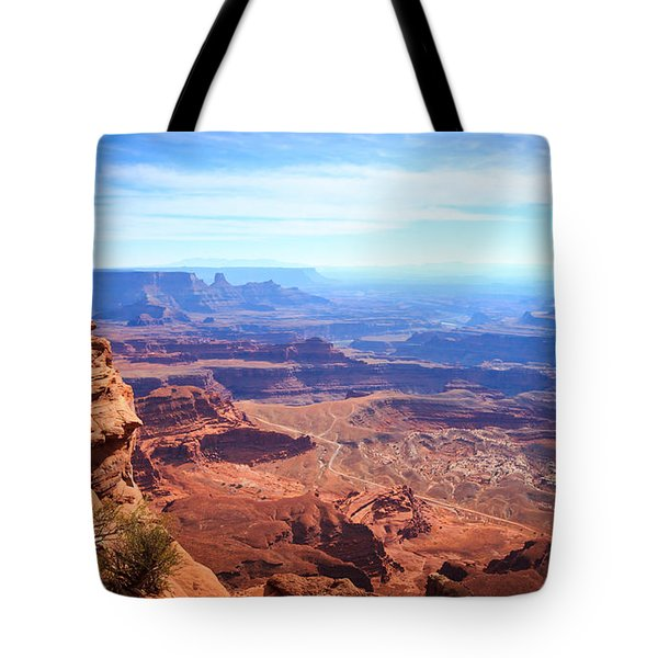 Tote Bag featuring the photograph Canyonlands - A Landscape To Get Lost In by Peta Thames