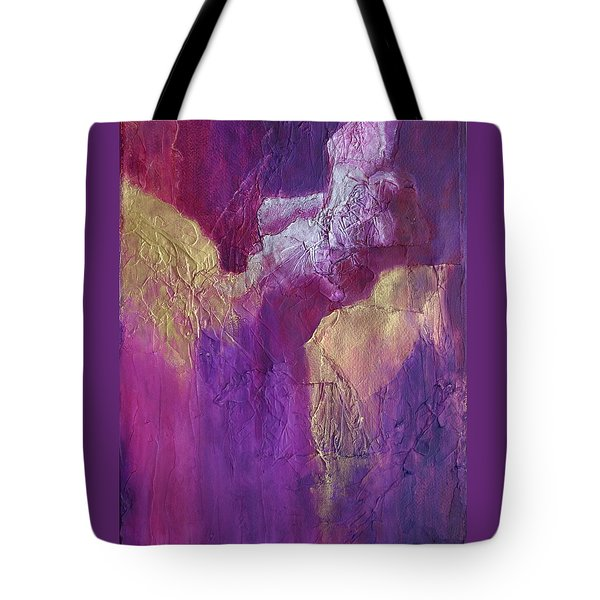 Tote Bag featuring the painting Canyonlands by Nancy Jolley
