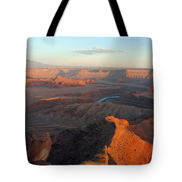 Canyonlands Np Dead Horse Point 21 Tote Bag