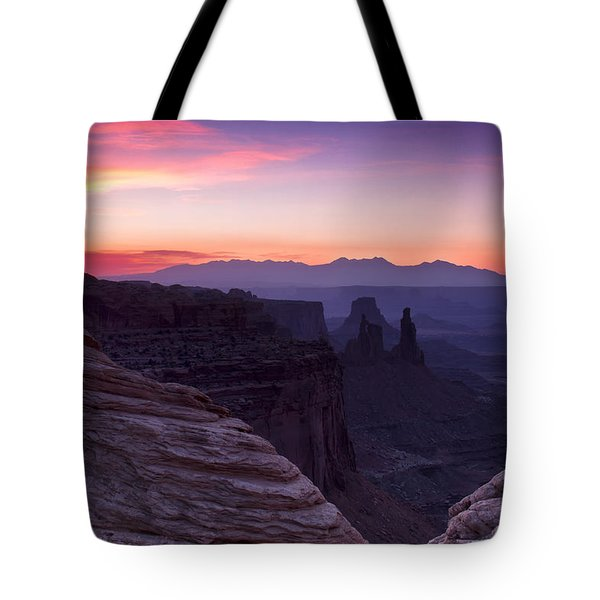 Canyonlands Sunrise Tote Bag