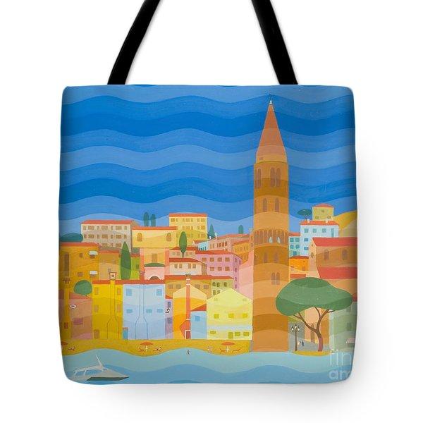 Caorle Tote Bag by Emil Parrag