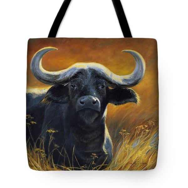 Cape Buffalo Tote Bag