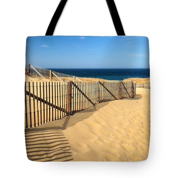 Cape Cod Beach Tote Bag
