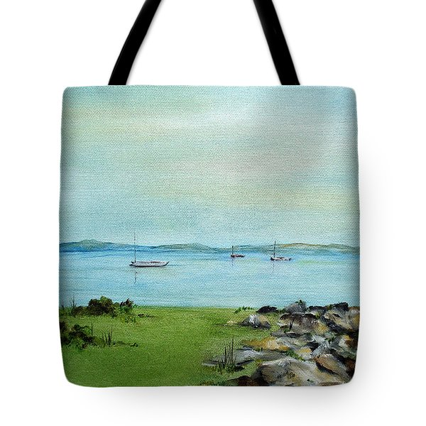 Cape Cod  Boats Tote Bag