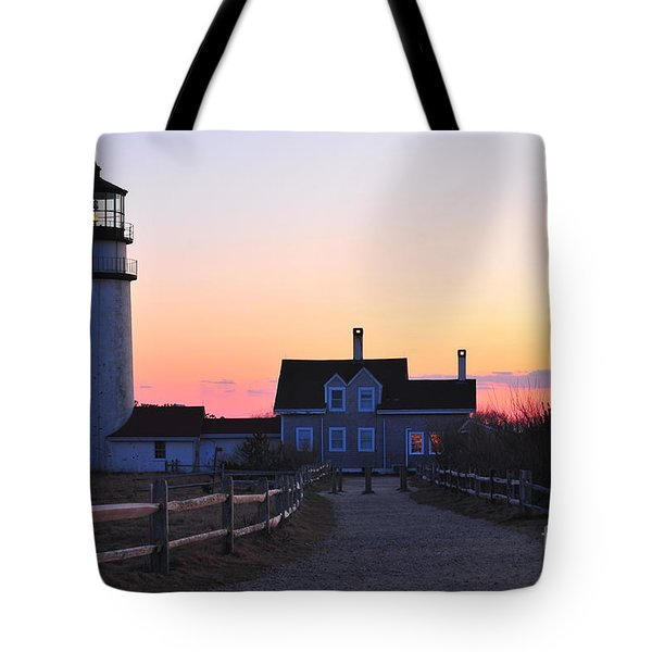 Cape Cod Light Tote Bag by Catherine Reusch Daley