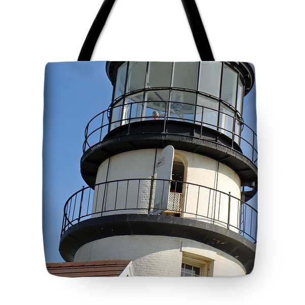 Tote Bag featuring the photograph Cape Cod Lighthouse by Ira Shander
