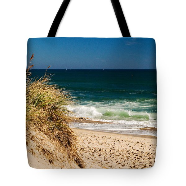 Cape Cod Massachusetts Beach Tote Bag