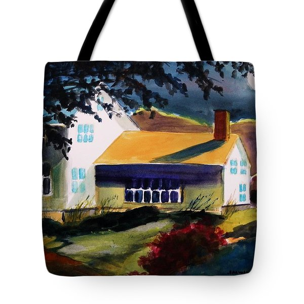 Cape Cod Moon Tote Bag by John Williams