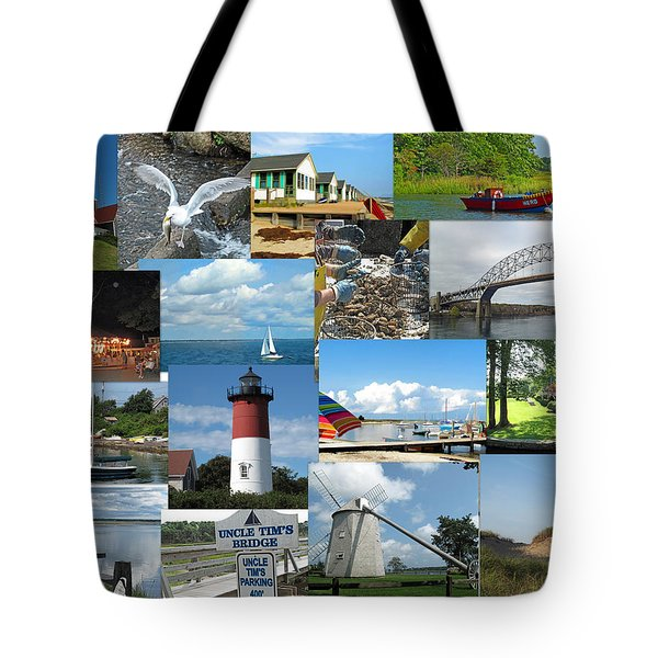 Cape Cod Vacation Land Tote Bag by Barbara McDevitt