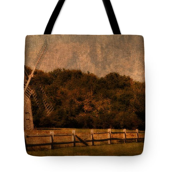Cape Cod Windmill Tote Bag