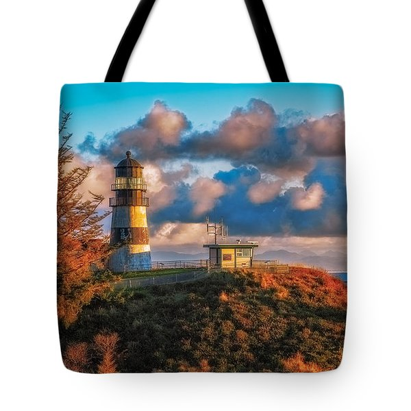Cape Disappointment Light House Tote Bag