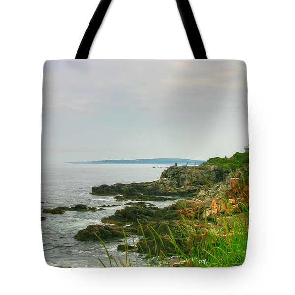 Cape Elizabeth Maine Tote Bag by Denyse Duhaime