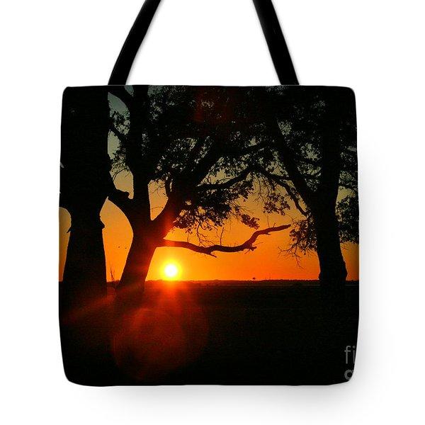 Cape Fear Sunset Tote Bag