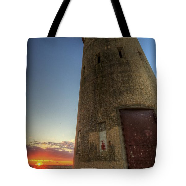 Cape Henlopen Tower Tote Bag