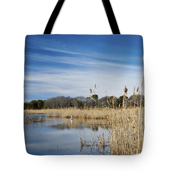 Cape May Marshes Tote Bag by Jennifer Ancker