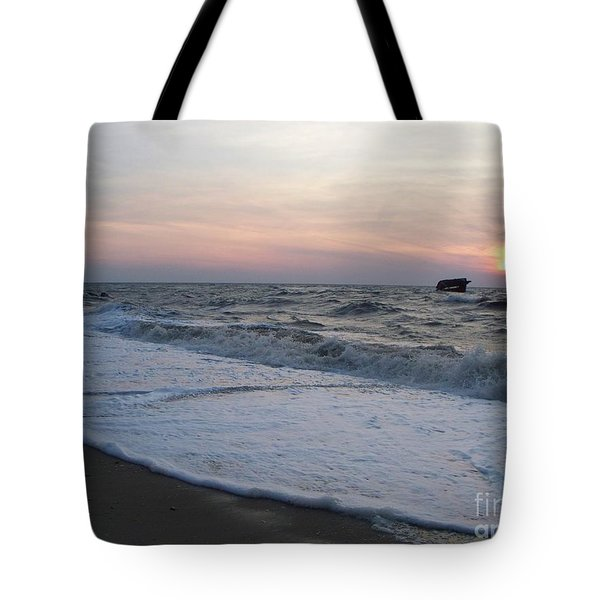 Cape May Sunset Beach Nj Tote Bag