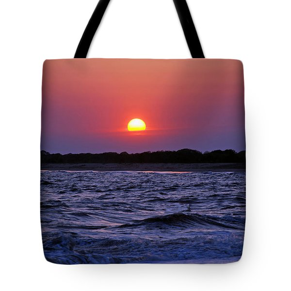 Cape May Sunset Tote Bag by Richard Bryce and Family