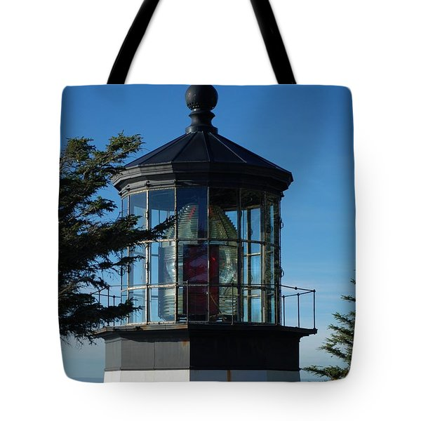 Cape Meares Lighthouse Tote Bag