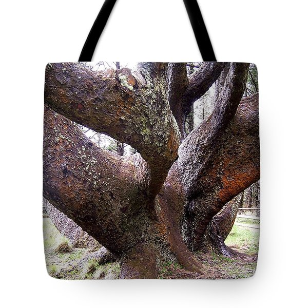 Cape Meares Octopus Tree Tote Bag by Peter Mooyman