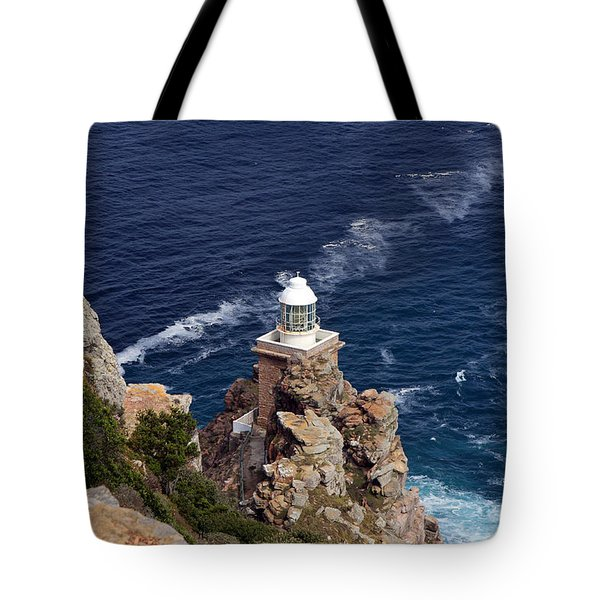 Cape Of Good Hope Lighthouse Tote Bag by Aidan Moran