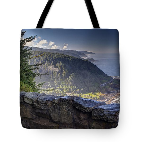 Cape Perpetua Lookout Tote Bag