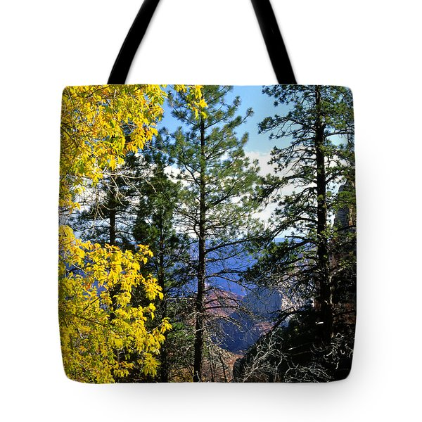 Cape Royal Grand Canyon Tote Bag by Ed  Riche