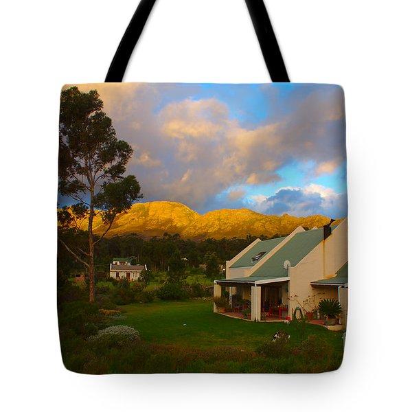 Cape Sunset Tote Bag