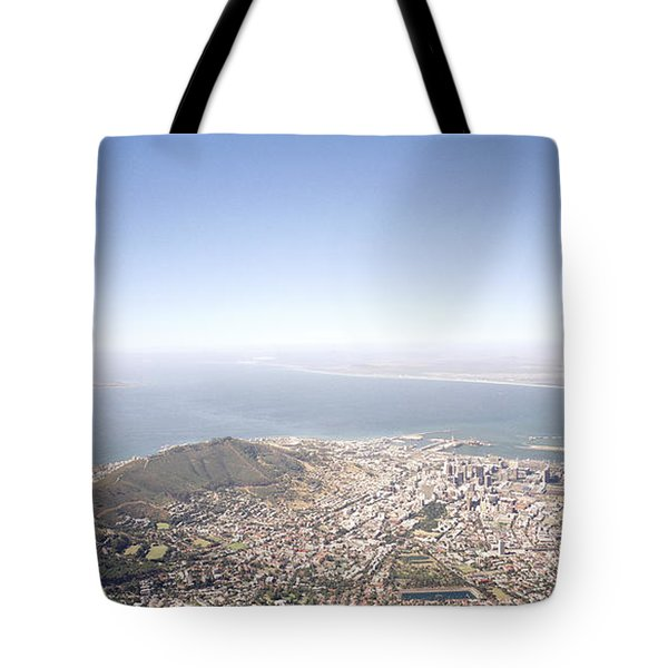 Cape Town Panorama Tote Bag by Shaun Higson