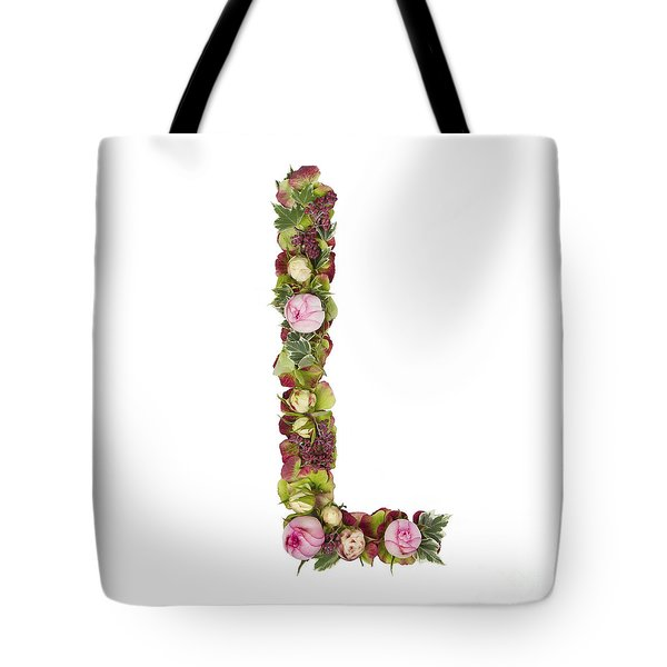Capital Letter L Tote Bag