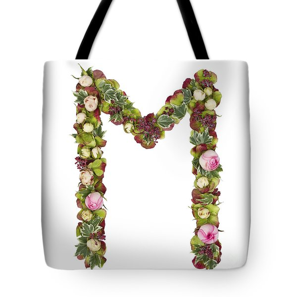 Capital Letter M Tote Bag