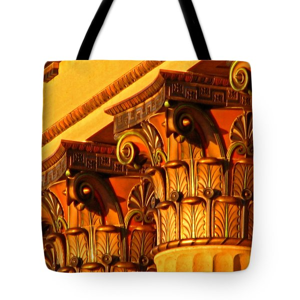 Capitals Tote Bag by Christopher Woods