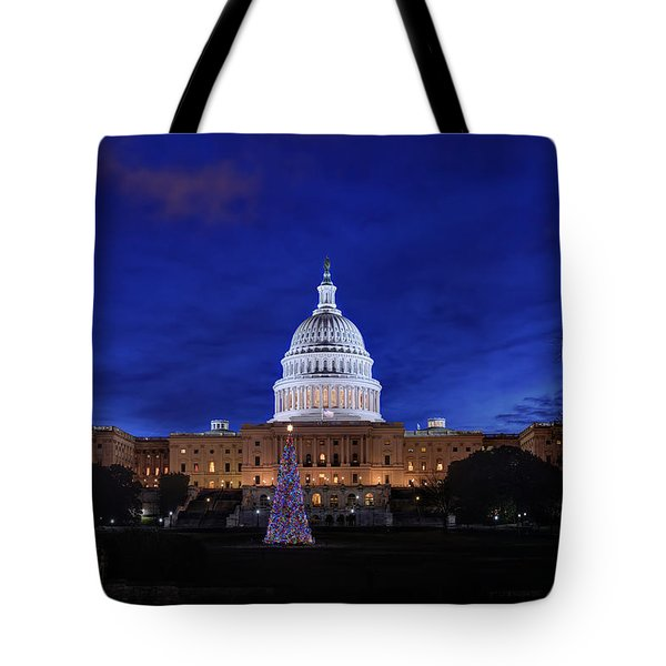 Capitol Christmas - 2013 Tote Bag