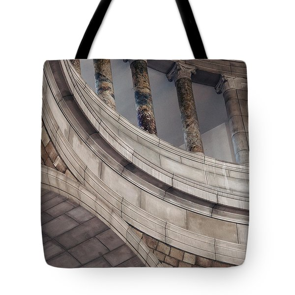 Capitol Curves Tote Bag by Art Whitton