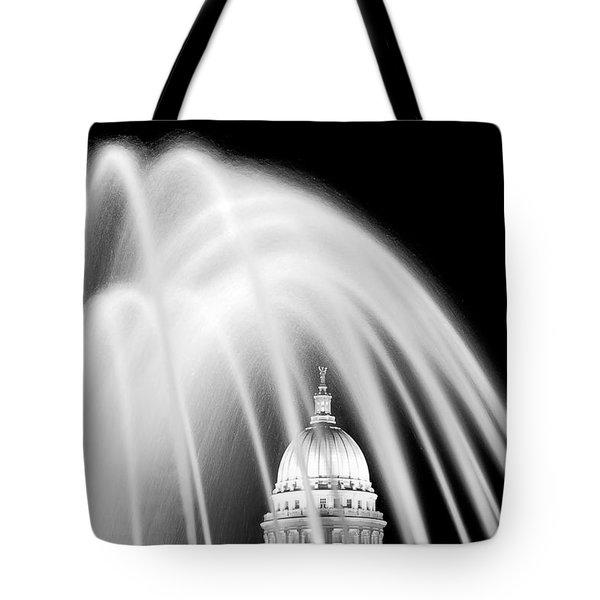 Capitol Fountain Tote Bag