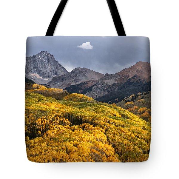 Capitol Peak In Snowmass Colorado Tote Bag