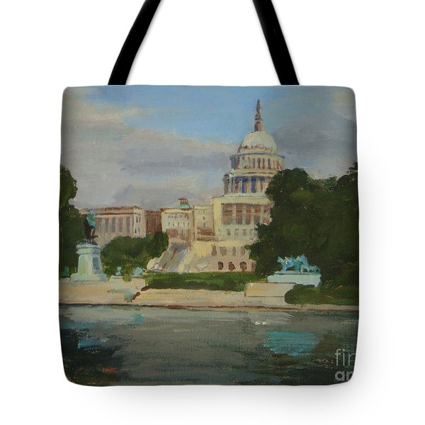 Capitol Reflections Tote Bag