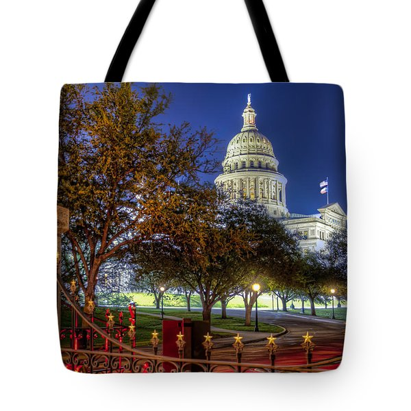 Capitol Stars Tote Bag by Tim Stanley
